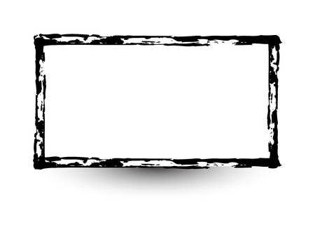Retro Grunge Frame Banner