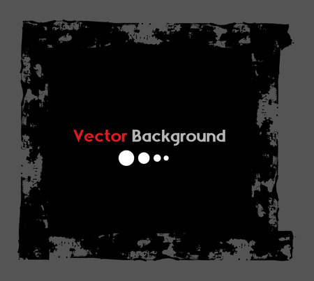 commercial painting: Old Grunge Banner Vector Illustration