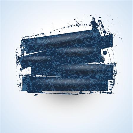 wet paint: Wet Paint Grunge Banner