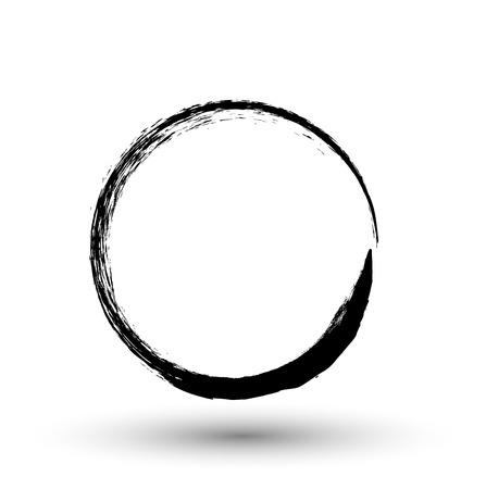 Grunge Circle Frame