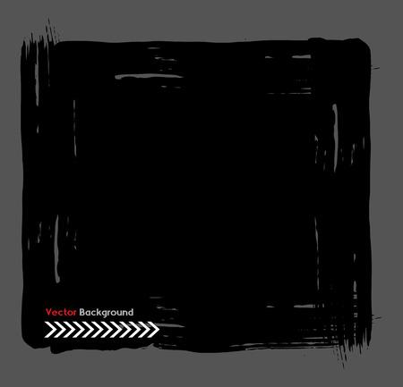 scruffy: Rough Banner Vector Illustration