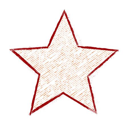 scruffy: Scruffy Star Design