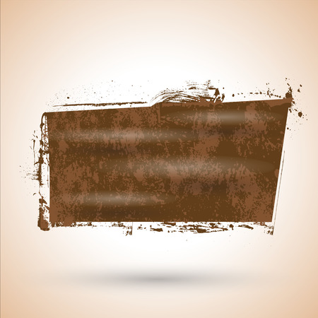 commercial painting: Absatract Grunge Wet Banner