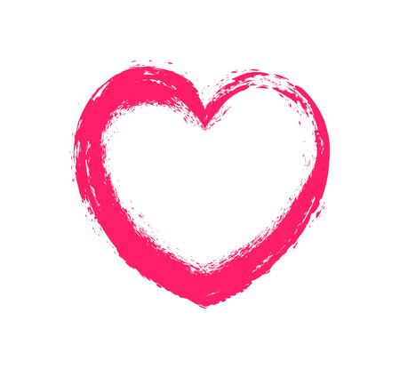 el coraz�n de san valent�n: Grunge del coraz�n de San Valent�n Vectores