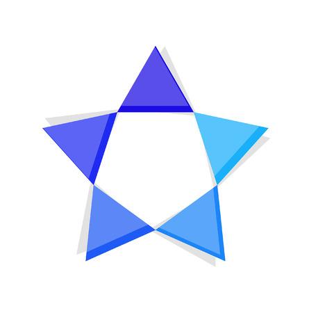 hvězda: Hvězda Frame Ilustrace