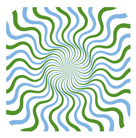 swirl: Swirl Colored Sunburst