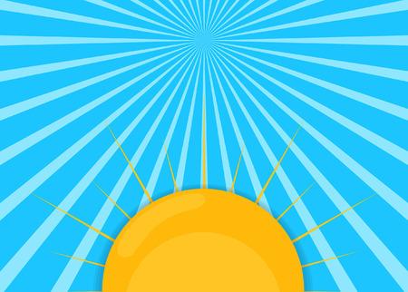 sunrays: Sunrays Vector Background