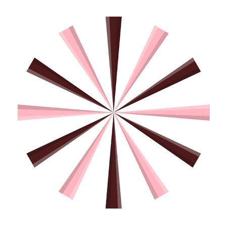 chocolaty: Vintage Chocolaty Sunburst Design