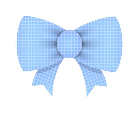 ribbon bow: Birthday Ribbon Bow Illustration