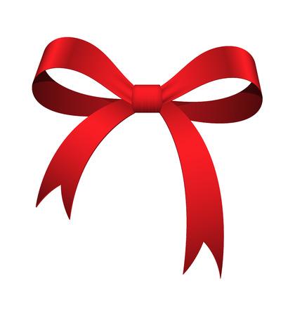 ribbon bow: Red Ribbon Bow