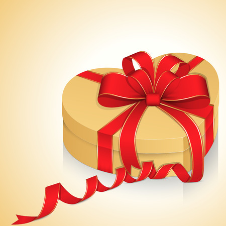 Birthday Gift Box Vector Illustration Illustration
