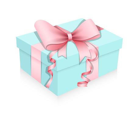 cadeau anniversaire: Box cadeau d'anniversaire Illustration Vecteur