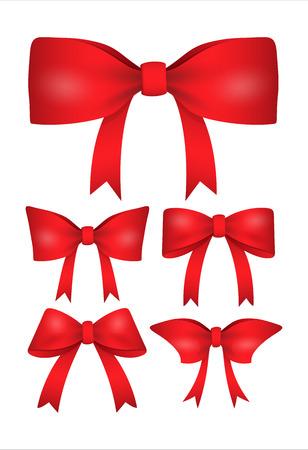valentine ribbon bow set royalty free cliparts vectors and stock illustration image 35968836 - Valentine Ribbon