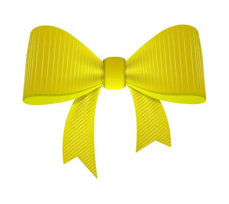 ribbon bow: Vintage Ribbon Bow Illustration
