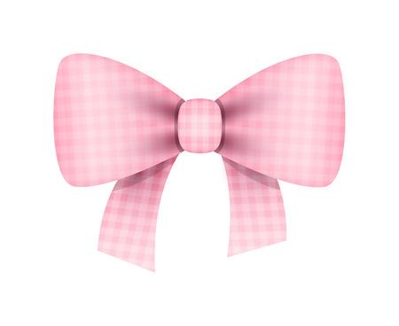 ribbon bow: Gift Ribbon Bow Illustration
