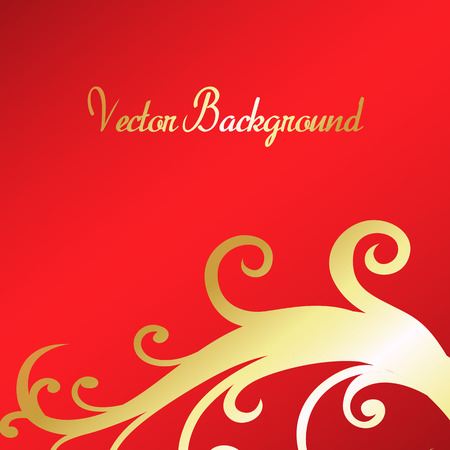 new year s day: Christmas Floral Background Illustration
