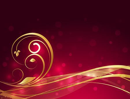 swirl: Wavy Swirl Bokeh Background
