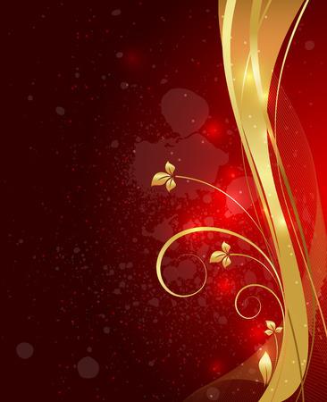 swirl: Wavy Swirl Splash Background