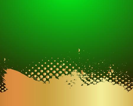 scatter: Golden Paint Scatter Backdrop