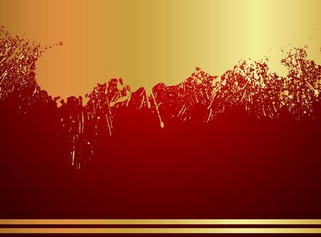 rozpraszać: Grunge Tło Złoty Farby Punktowy