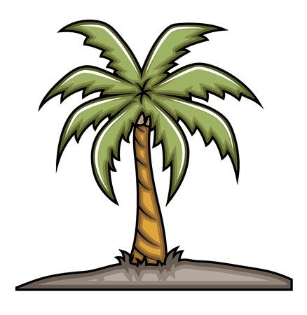 elongated: Palm Tree