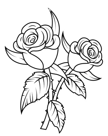 Rose Flowers Clipart Royalty Free Cliparts Vectors And Stock