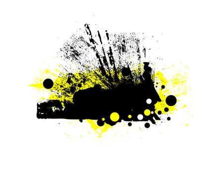 scatter: Grunge Scatter Banner
