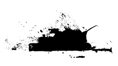 Grunge Stain Texture 向量圖像