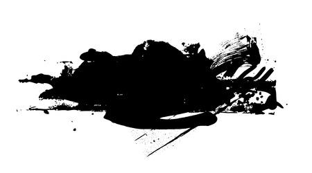scruffy: Scruffy Stain Grunge Banner
