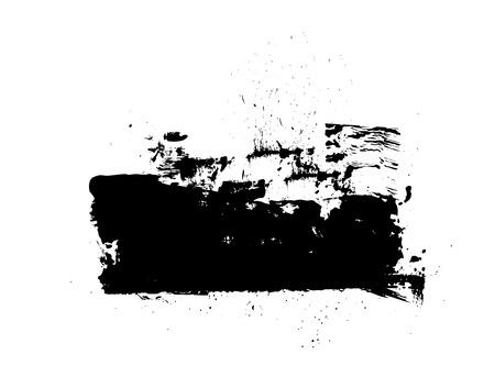 Rough Grunge Banner Vector Illustration