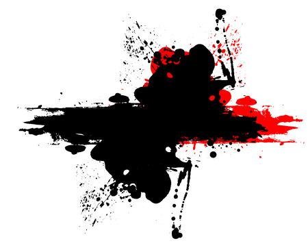 to scatter: Grunge Scatter Banner