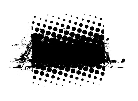 urban grunge: Urban Grunge Halftone Banner