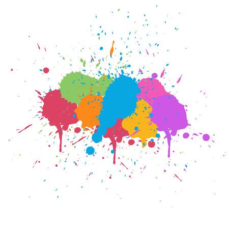 whitewash: Colorful Splash