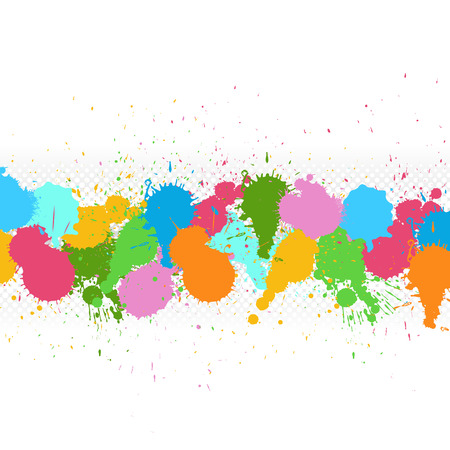 scatter: Colorful Vector Scatter