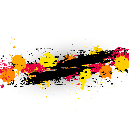 whitewash: Rough Paint Drops Grunge Background