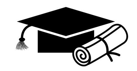 degree: Graduation Degree Illustration