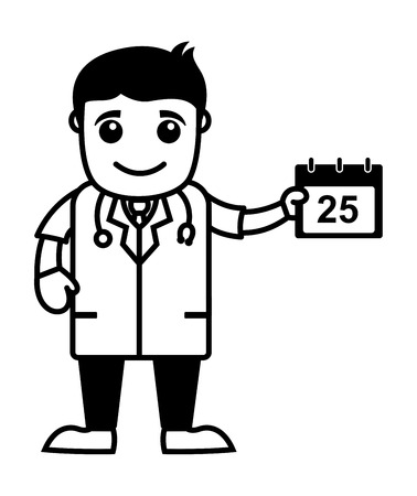appointment book: Schedule Doctor Calendar - Medical Cartoon Characters