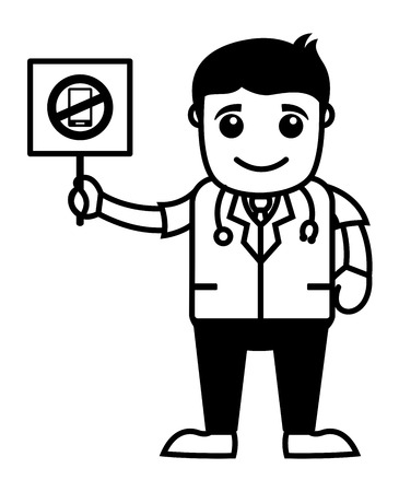 allowed: Mobile Phone Not Allowed - Medical Cartoon Characters