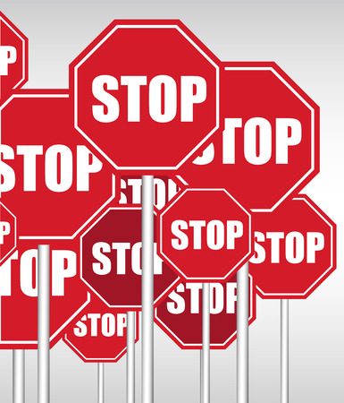 signal pole: Stop Signboards Background