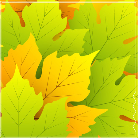saturated: Saturated Leaves Background Vector