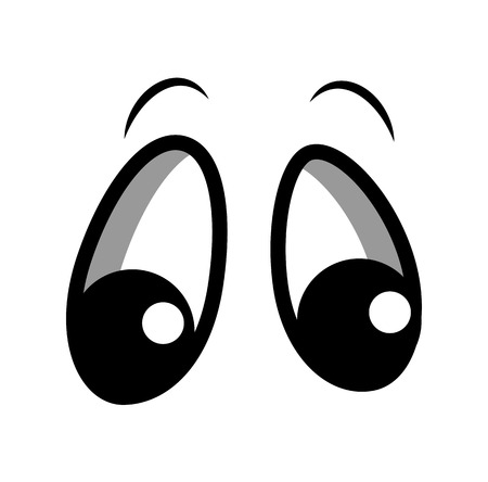 Curious Cartoon Eyes