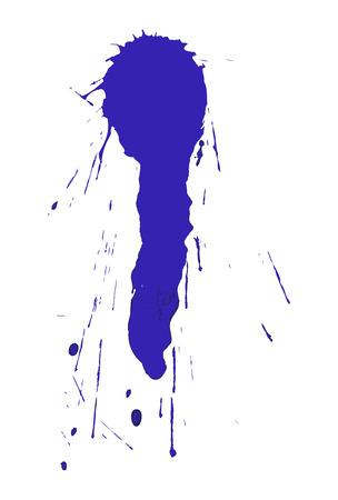 cemented: Manchas de tinta
