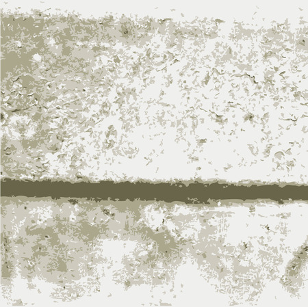cemented: Dirty Messy Texture Wall in Vector Format Illustration