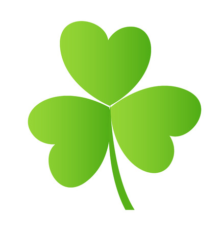 shamrock: Green Shamrock Leaf Vector