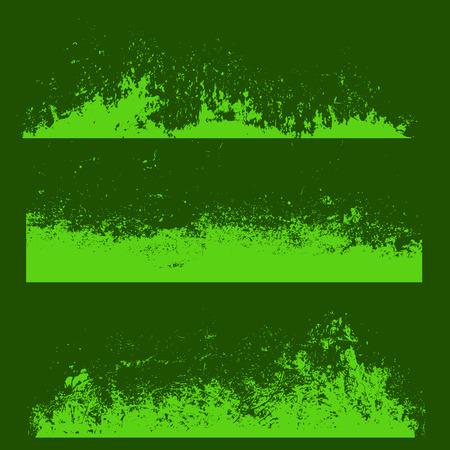 cemented: Abstract desali�ado Textura Bordes Banners Vectores