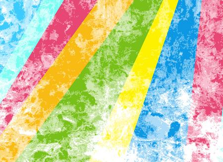 cemented: Coloreada rayada Grunge pared