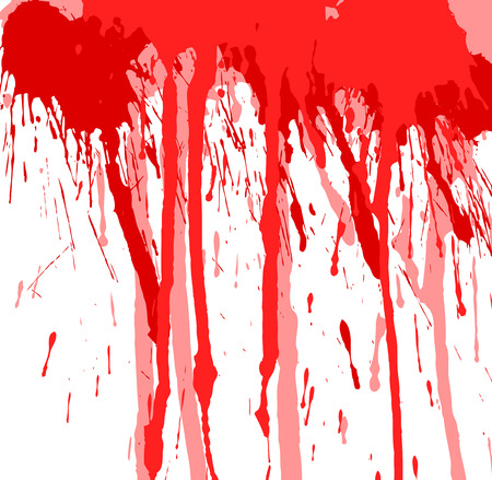 Abstract Grunge Paint Dripping