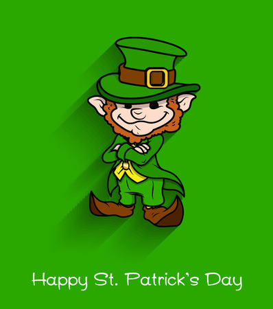 naughty girl: Happy Leprechaun - Cartoon Character