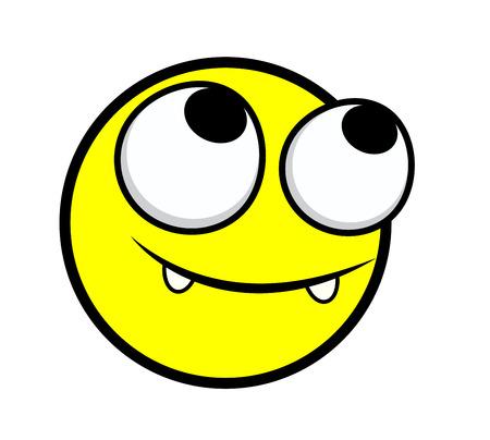 innocent: Happy Innocent Cartoon Face Expression