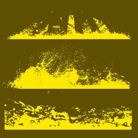 cemented: Abstract Strokes Grunge textura Vectores